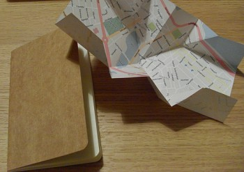 Mind-map: using the papernet to produce books just for you. Photo: Brian Suda