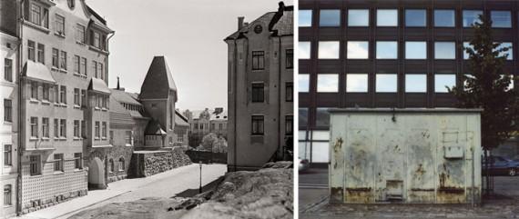 Windows into two centuries: Oikokatu ('Oikokatu street') by I. K. Inha, 1908, and a contemporary façade by Martti Jämsä