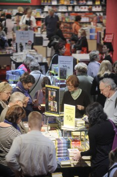 Words for sale: Helsinki Book Fair, 2009. - Photo: Suomen Messut, Kimmo Brandt