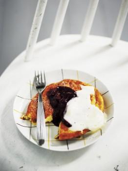 As Grandma used to make them: pancakes. – Photo: Sami Repo
