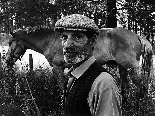 A Romani man, Nurmes, 1969. Photo: Mikko Savolainen