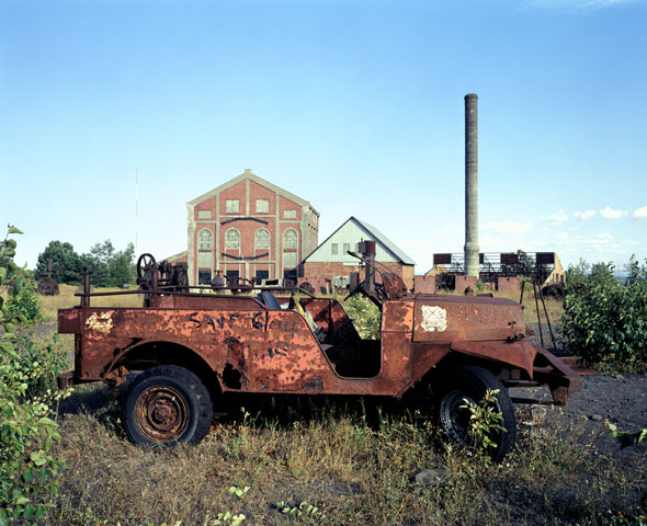 Former glory: Quincy Mine, Hancock, Michigan, USA (2005)