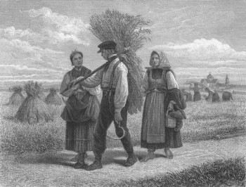 Country people from Vasa area. Adolf von Becker (1831–1909)