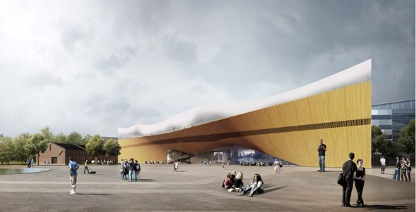 The new Helsinki library: Kaannos by ALA Architects Ltd