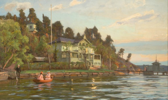 A view at Ruissalo, 1903. Painting by Victor Westerholm (1860–1919), Kuopio Art Museum