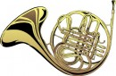 French horn. Wikipedia