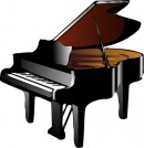 Grand piano. Wikimedia