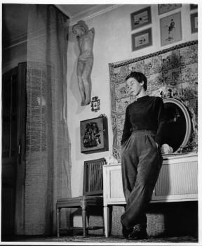 Tove Jansson, 1956. Photo: @Moomin Characters