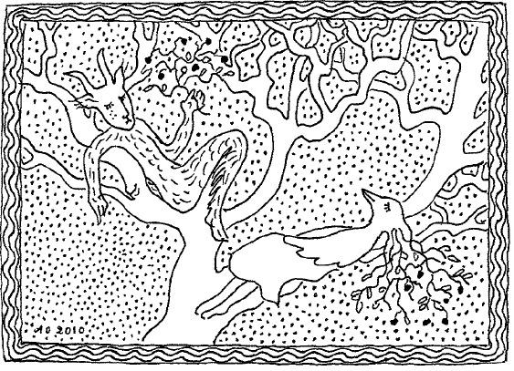 Illustration by Aulikki Oksanen
