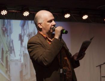 Juha Kulmala. Photo: Kajaanin runoviikko, 2014