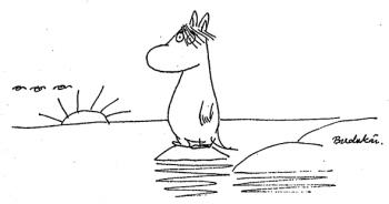 Self-portrait of an artist? Tove Jansson's Moomintroll